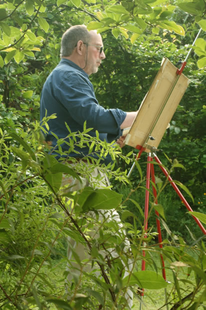 Sussex Art Scenes including Bosham Harbour painted by Surrey Artist David Harmer