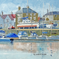 Fareham Creek – Limited Edition Fine Art Prints – Fareham Art Group Landscape and Seascape Artist David Whitson