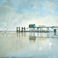 Hardway Gosport Old Jetty – Fine Art Prints and Painting For Sale – Gosport Art Group – David Whitson