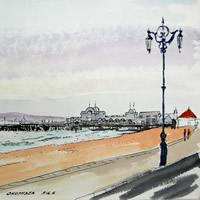 South Parade Pier Southsea Portsmouth - Hampshire Art Gallery