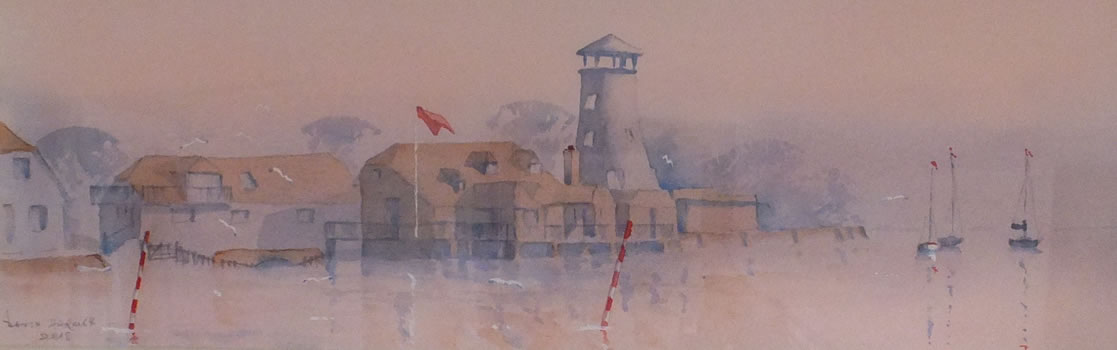 Langstone Hampshire Art - Morning Mist