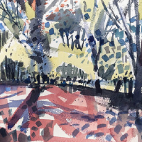 Hampshire Art Gallery – Emsworth Landscape Artist Contemporary Trees – Nic Cowper