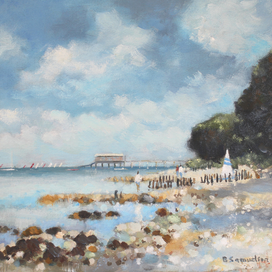Bembridge Isle of Wight - Lifeboat Station - Hampshire Artists Gallery - Becky Samuelson