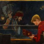 Pirates – Child's Imagination – Hampshire Artist William Rochfort Art Gallery