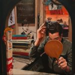 CinemaTicket Booth – Lymington Hampshire Fine Artist Will Rochfort