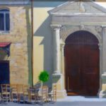 Hampshire Artists Gallery – Chichester and Hayling Island Arts Trail member Mike Johnson – Cretan Taverna