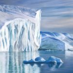 Greenland Iceberg – Hampshire Artist Jennifer Thorpe – Bursledon Art Society