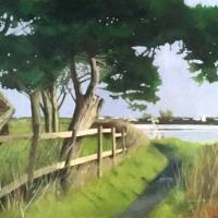 Mengham Creek Hayling Island Hampshire – Artist Mike Johnson