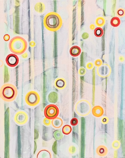 Modern Abstract Art - Hampshire Artist Tessa Coe
