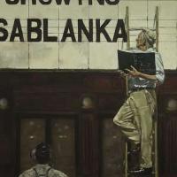 Cinema Billboard – Film Casablanca – Lymington Hampshire Artist in Oils William Rochfort