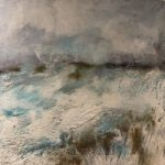 Snow Landscape – Out in the Cold – Winchester Hampshire Artist Karen Eames