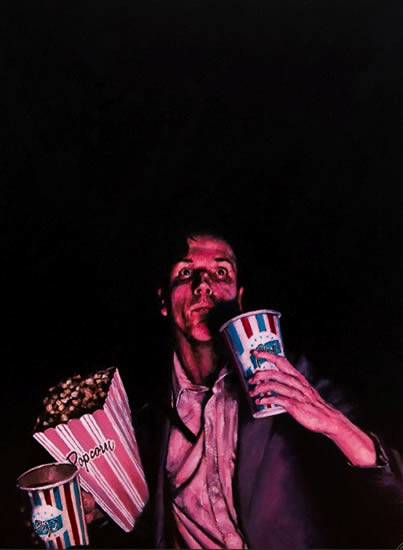 Popcorn at Movies- Fine Art Prints - Hampshire Art Gallery - William Rochfort