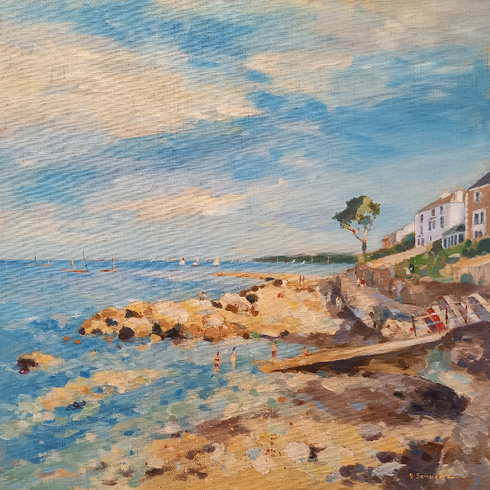 Seaview Beach, Isle of Wight - Hampshire Gallery - Coastal Artist Becky Samuelson