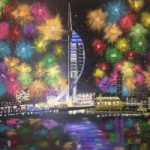 Spinnaker Tower, Portsmouth Cathedral, Church – Petersfield Hants Artist Mahmood Roostaei
