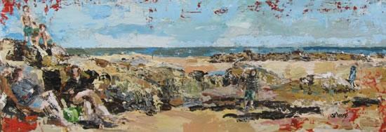 St Helens Beach - Isle of Wight Art Gallery - Rockpools