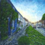 Sunset over East Street, Alresford, Hampshire – Ted Hepenstal Gallery