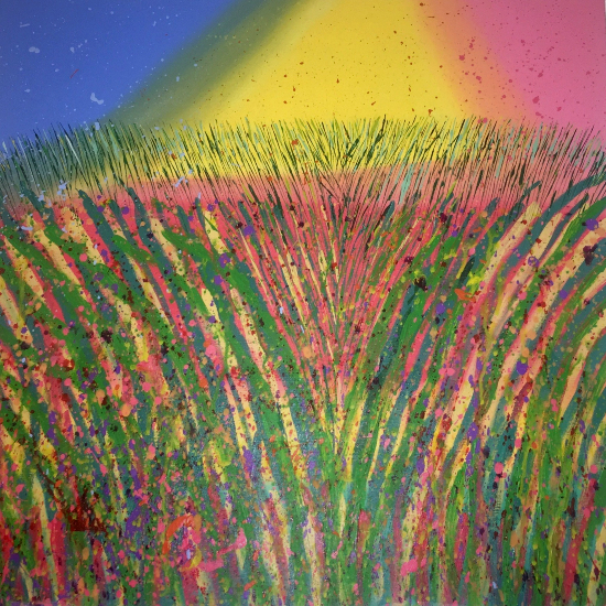 The Field - Petersfield Artist Mahmood Roostaei