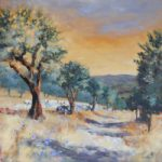 Tuscan Olive Grove – Hampshire Artists Gallery – Becky Samuelson