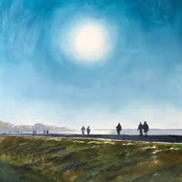 Hill Head – Fareham – Hampshire Art Gallery – Walkers – Gosport Artist David Whitson