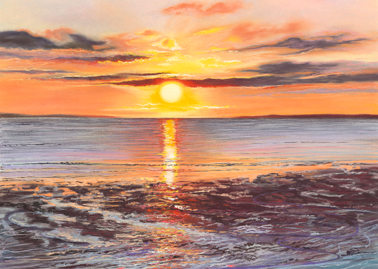 Pastel Art Commissions - Hampshire Artist Jennifer Thorpe - Ray of Hope