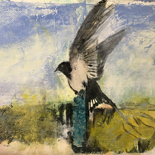 Wildlife - Bird Painting - Winchester Hampshire Artist Karen Eames
