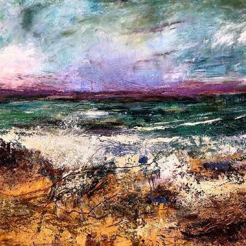 Winchester Hampshire Art Gallery - Seascape - Karen Eames