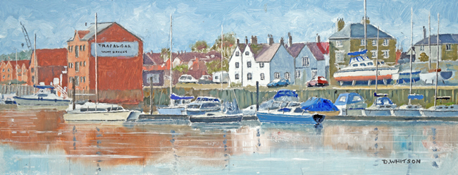 Fareham Creek - Limited Edition Fine Art Prints - Fareham Art Group Landscape and Seascape Artist David Whitson