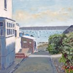 Gosport Towards the Harbour Old Hardway Lane Prints for sale – Gosport Art Group Artist David Whitson