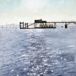 Portsmouth Harbour – Sultans Jetty – Art Prints and Painting For Sale – David Whitson