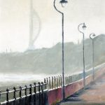 Portsmouth Harbour – Winter Morning Spinnaker Tower – Gosport Art Group Artist David Whitson