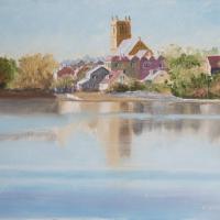 St Mary's Parish Church – Stoke Lake, Alverstoke – Limited Edition Prints – Gosport Artist David Whitson