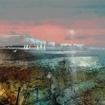The Needles Isle of Wight – Sea view with Sailing Boats – Hampshire Art Gallery – Prints for sale