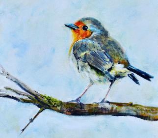 Wildlife Art - Warsash Hampshire Artist Lesley Stevens