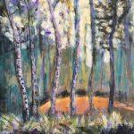 Puddletown Forest Dorset England – Spring Woodland – Weymouth Landscape Artist Chris Cotes