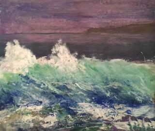 Seascape - Weymouth Artist Chris Cotes