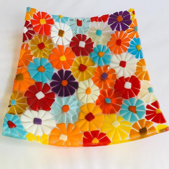 Heidi Robinson - Glass Craft - Flower Dish