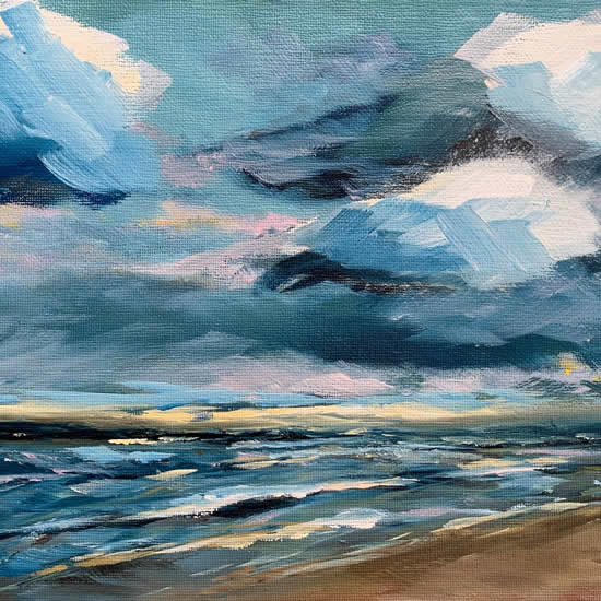 Maria Yadegar - South Downs Hampshire Artist